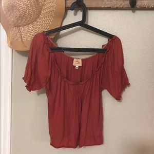 Anthropologie Twinkle by Wenlan New York blouse